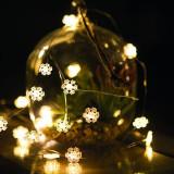 Sir de lumini LED - 20 LED - 2m - alb cald, 3xAAA