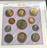 Belgia set monetarie 1991 UNC  Mozart