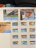 Sierra Leone - Timbre trenuri, locomotive, cai ferate, nestampilate MNH, Nestampilat