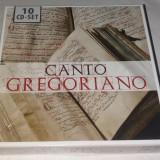 CANTO GREGORIANO - MUZICA GREGORIANA, CD