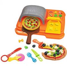 Set Art and Fun Pizza Dough cu 14 Accesorii