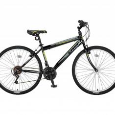 """Bicicleta MTB UMIT Colorado Man , culoare Negru/Galben , roata 26"""" , otelPB Cod:26010000002, V-brake"""