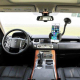 Cumpara ieftin Suport auto 2 in 1 Universal Samsung iPhone Nokia LG BlackBerry 47-100 mm Negru
