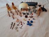 Playmobil - Polul nord, eschimosi, iglu, balena, baluga, canoe