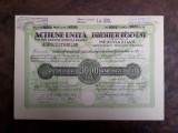 3000 Lei 1923 Societatea Agricultorilor Arad actiuni vechi actiune veche Romania