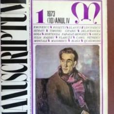 Manuscriptum 1/1973