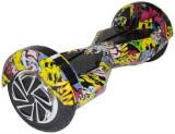 Cumpara ieftin Scooter electric (hoverboard) Myria F1 MY7003, Geanta inclusa (Graffiti Galben)