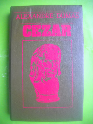 HOPCT CEZAR /ALEXANDRE DUMAS- HYPERION CHISINAU 1991 -421  PAGINI-LEGATA foto
