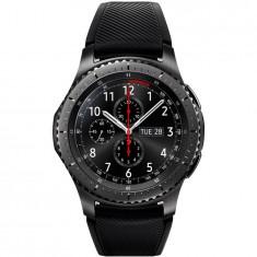 Smartwatch Samsung Gear S3, Frontier, bratara activa silicon, IP68