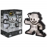 Figurina Pixel Pals Black And White Vault Boy