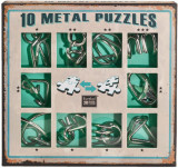 10 metal puzzle green
