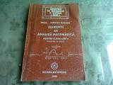 ELEMENTE DE ANALIZA MATEMATICA CLASA A XII-A - MIRCEA GANGA