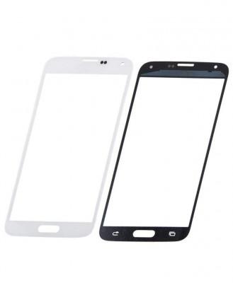 Geam Sticla Samsung Galaxy S5 mini SM G800 Alb foto