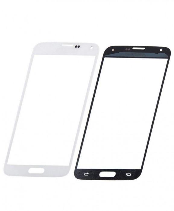 Geam Sticla Samsung Galaxy S5 mini SM G800 Alb