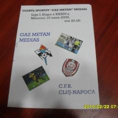 program      Gaz  M.  Medias   -  CFR  Cluj