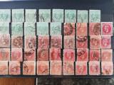 Timbre Romania, stampilate, Vulturi, Paris, Bucusesti 1 si 2, PRET/BUCATA, Stampilat