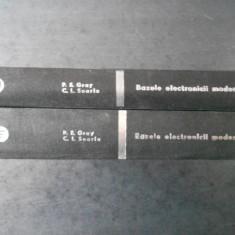 PAUL E. GRAY - BAZELE ELECTRONICII MODERNE 2 volume