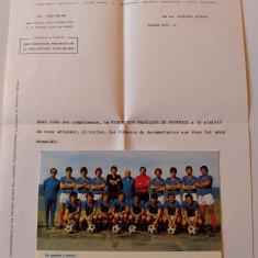 Foto(sezonul 1971/1972)fotbal-FRANTA (inclusiv scrisoarea din partea federatiei)