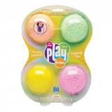 Playfoam - Spuma modelabila cu sclipici in 4 culori, Learning Resources