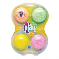 Playfoam Spuma modelabila cu sclipici in 4 culori