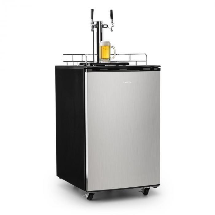 Klarstein Big Spender Double, frigider pentru băuturi, butoaie de până la 50 l
