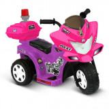 Motocicletă pentru copii Lil' Patrol 6-Volt Battery-Powered Ride-On, Moz și Roz