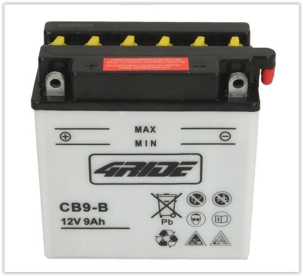 Baterie cu acid 4RIDE YB9-B 12V-9AH Aprilia Scarabeo YB9B