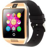 Cumpara ieftin Smartwatch cu telefon iUni Q18, Camera, BT, 1,5 inch, Auriu