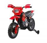 HomCom Moto Cross Electric pentru Copii cu Role, Roșu
