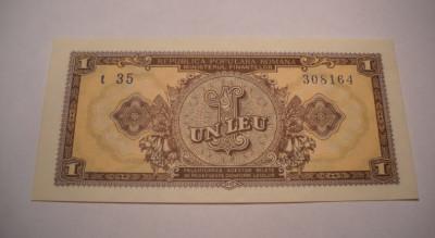 1 leu 1952 UNC foto
