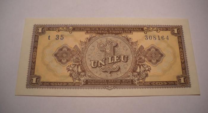 1 leu 1952 UNC