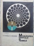 MASURAREA DEBITULUI IN TEHNICA-R.R. POPESCU, P. MIHORDEA