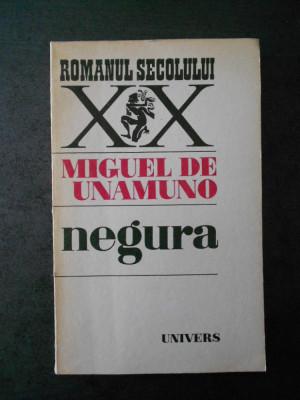 MIGUEL DE UNAMUNO - NEGURA foto