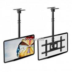 Suport de Tavan Reglabil pentru Televizor 32-70Inch 68kg DST56015