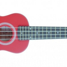 Ukulele Arrow PB10 R2 Soprano Red#2 Top