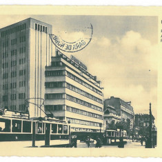 4532 - BUCURESTI, Tramways, Romania - old postcard, real PHOTO - used - 1936, Circulata, Fotografie