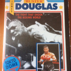 MIKE TYSON VS JAMES DOUGLAS  TOKYO DOME 11.02.1990 - CASETA VIDEO VHS Originala