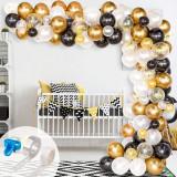 Set 123 baloane si accesorii pentru petrecere aniversare tip arcada, Oem