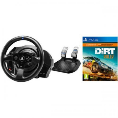 Volan THRUSTMASTER T300 RS RACING WHEEL - joc DIRT RALLY PS4 foto