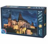 Cumpara ieftin Puzzle Romania - Castelul Corvinilor Seara, 1000 piese