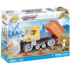 Cumpara ieftin Set de construit Cobi, Construction, Caterpillar Bulldozer (250 pcs)