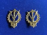 Insigne militare - Insigne România - Semne de armă - Geniu nou (culoare aurie)