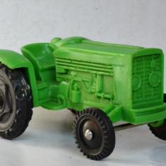 Jucarie veche plastic Stelco Vinyl Line Tractor Plastik , Art. 421, 1: 24