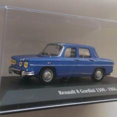 Macheta Renault 8 Gordini 1300 (Dacia 1100 S) 1966 - Atlas 1/43