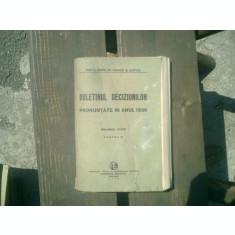Buletinul deciziunilor pronuntate in anul 1939 volumul LXXVI partea III