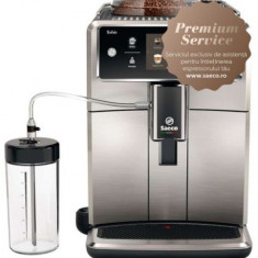 Espressor automat Saeco Xelsis SM7683/00, Ecran tactil cu Coffee Equalizer, Sistem Latteduo, 15 selectii , 6 profiluri, Rasnita ceramica cu 12 trepte,
