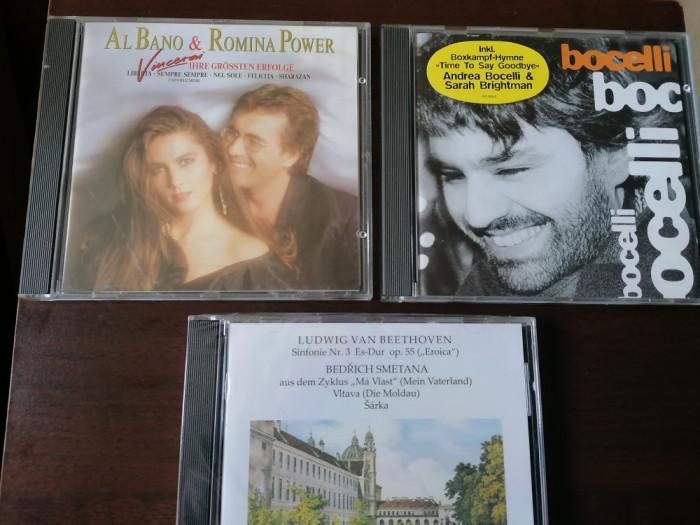 LOT 3 CD ORIGINALE AL BANO ROMINA POWER , BOCELLI , BEETHOVEN