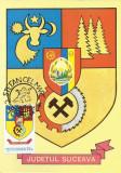 TSV - MAXIMA SUCEAVA - STEMA JUDETULUI HERALDICA, STAMPILA 1