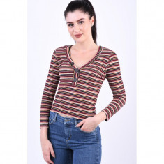 Bluza Only Nella 3/4 Ginger Bread Stripes
