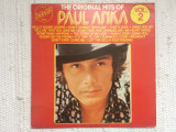 Paul anka the original hits of best vol 2 muzica pop embassy 1975 disc vinyl lp, VINIL